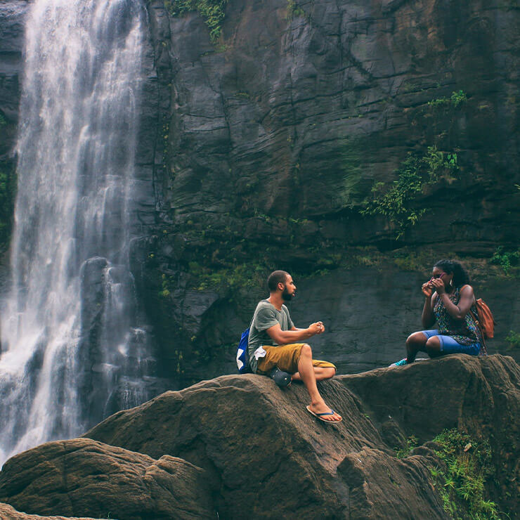 Transformational holidays for couples